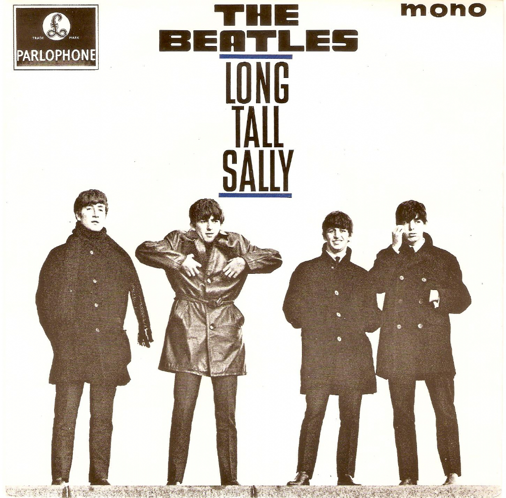 THE BEATLES Long Tall Sally EP Vinyl Record 7 Inch Parlophone.